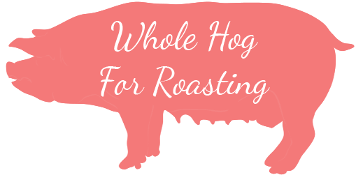 Whole hog for roasting